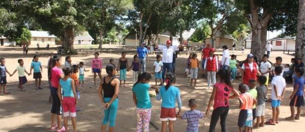Consulado de Colombia en San Fernando de Atabapo organizó las primeras Olimpiadas Indígenas con Managua
